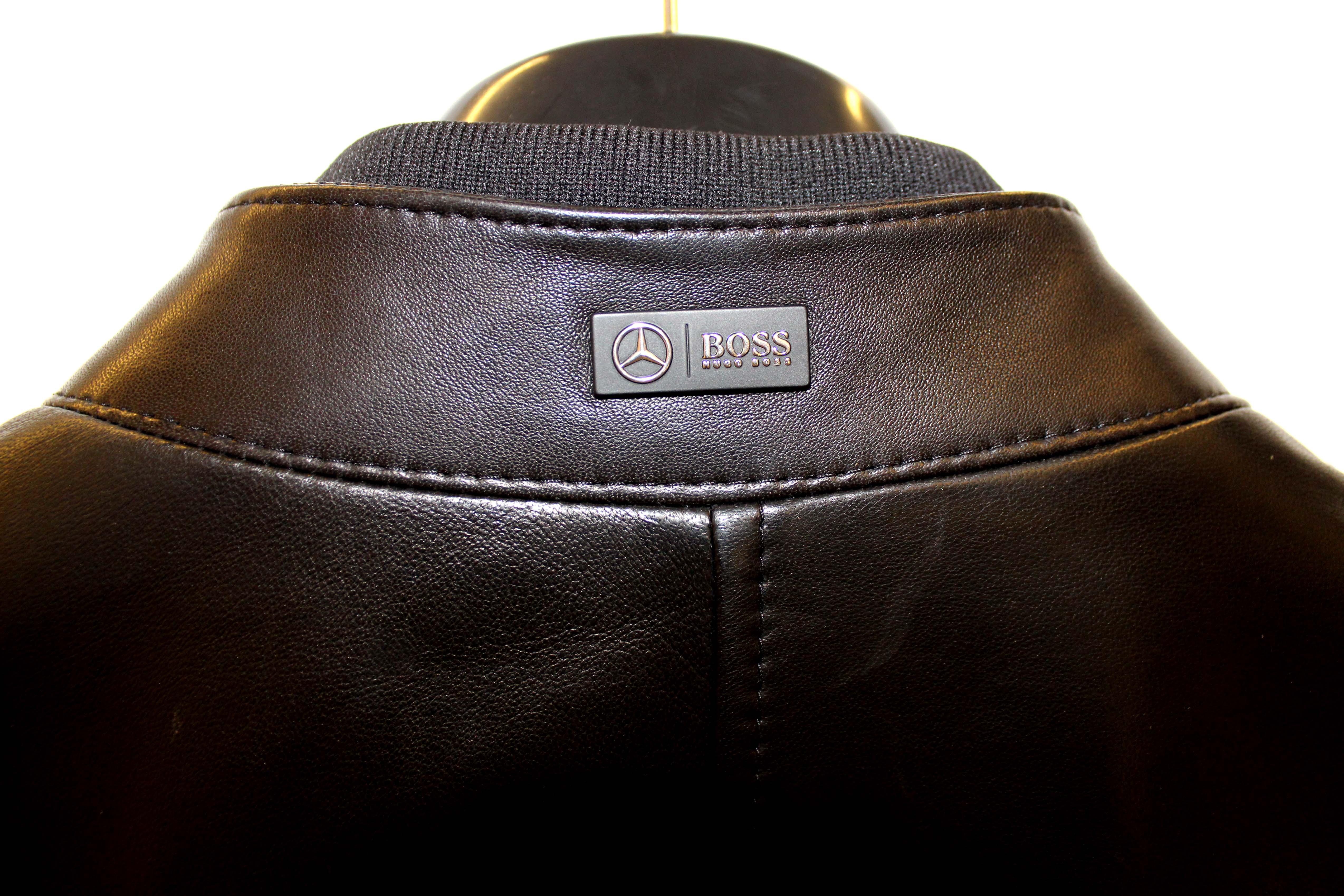 Las elegantes prendas de la colección HUGO BOSS-MERCEDES en SirS