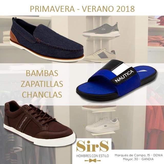 Tendencia calzado Primavera – Verano 2018